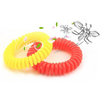 10Pcs Pack Mosquito Repellent Bracelets Natural Plant Oil Repellent Pest Control Repeller Up To 360 Hours