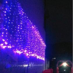 Neujahr Girlanden LED Weihnachtsbeleuchtung Außen 10x5 mt Party Cristams Dekoration LED Vorhang Lichterketten Luces De Navidad
