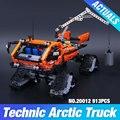 Nuevo 913 unids Lepin 20012 Grupo de La Aventura Polar Serie Técnica Mecánica Vehículo Building Blocks Ladrillos Set Juguetes