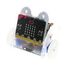 Anello: bit Ringbit Auto V2 per Micro: bit, educativi di Smart Robot Car Kit FAI DA TE per I Bambini di Programmazione (Senza Microbit bordo) MB0019