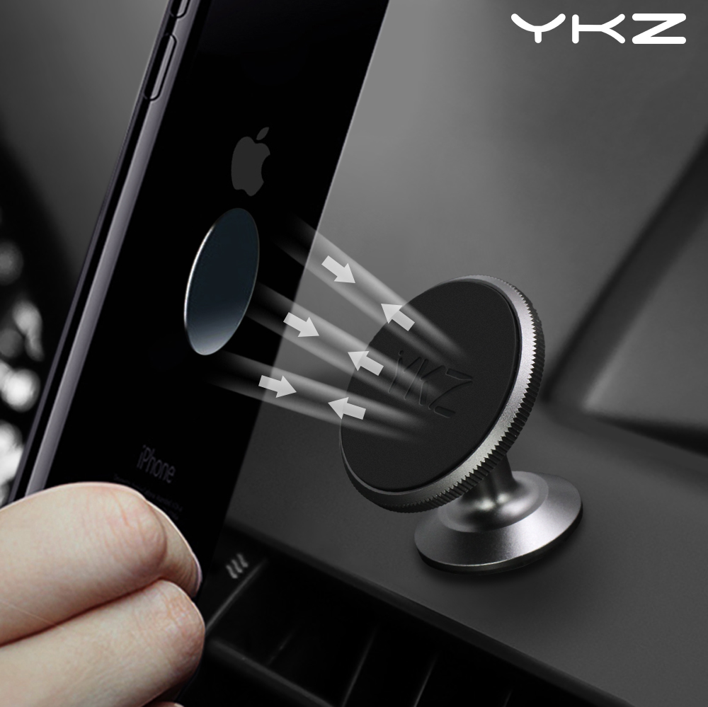 YKZ Car Phone holder Magnetic Holder universal dashboard Car Mout magnet smartphone Gps mobile bracket Car mobile Phone Holder