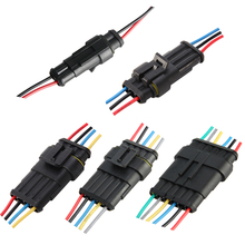 2/3/4/5/6 Pin Way Sealed Waterproof Electrical Wire Auto Connector Plug Set Car Part Automotive Connectors