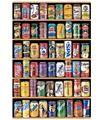 Соды вертикальная версия деревянные головоломки 1000 шт. ersion бумаги головоломки белый карты взрослых детей образовательные игрушки