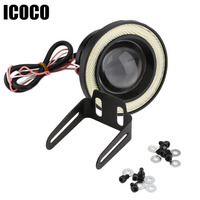 ICOCO 3 5 Inch 30W COB Angel Eyes Fog Lights Projector Car LED COB Fog Lamp