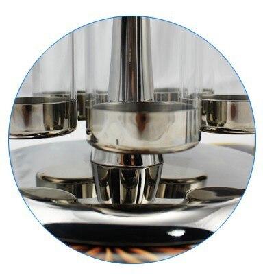 5 шт приправ, ароматизатор, шейкер для соли и перца, как показано по телевизору