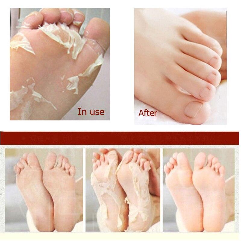 Piling maska za stopala Čarape za pedikir Čarape za stopala - Briga o koži - Foto 5