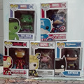 Funko POP the Avengers figure 10cm PVC Action Figure Captain America ,hulk ,iron man series styles cute toys hot selling
