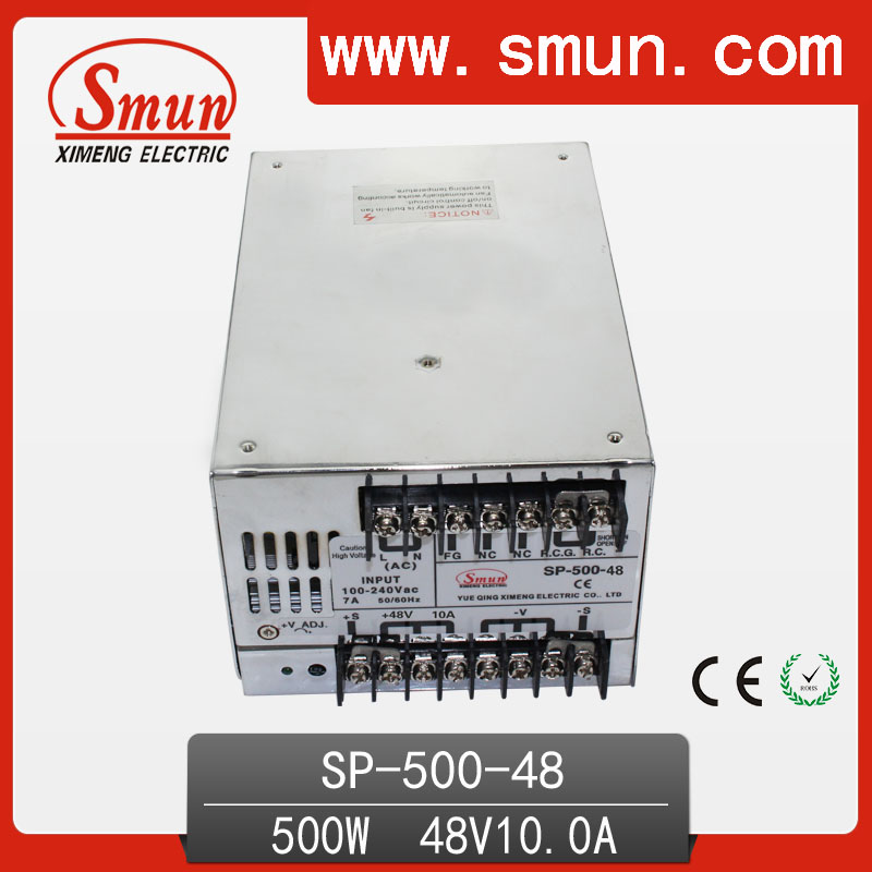 500W 48V with PFC Single Output Switching Power Supply with CE ROHS from China Supplier Industrial