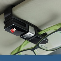 Sline S Line Design Car Glasses Holder Case Muiti Purpose Cards Clip Sun Visor Position For