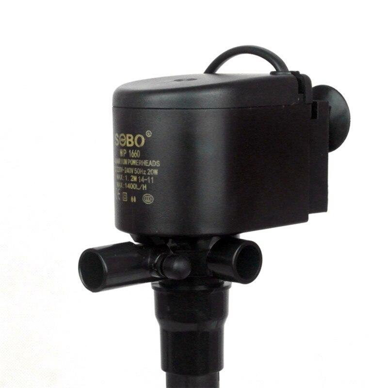 Ultra-quiet fish tank aquarium pumps submersible pump supplies voltage 220V power 20W