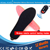 Winter Outdoor Sports Men And Women Shoe Boot Heating Insole Remote Wireless Remote Heating Shoe Inner