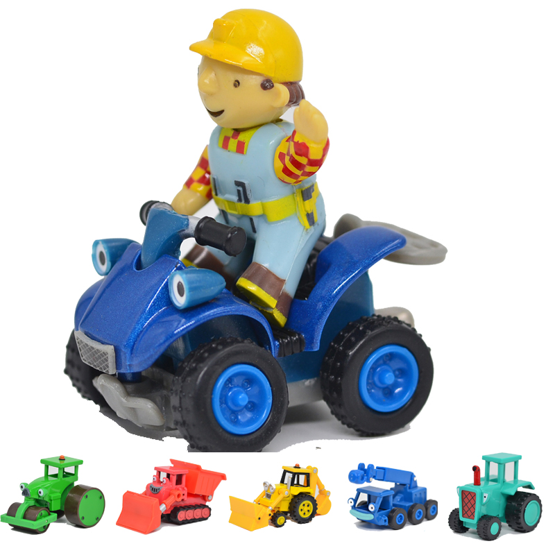 BOHS Bob Genuine Metal Alloy the Builder Scoop Muck Roley Diecast Action Figures Toys for Kids 24pcs bohs mini monster collection figures toys random