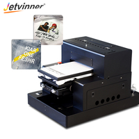 Jetvinner Automatic A3 Size DTG Printer For T shirt, Jeans, Jacket, Fabric Textile Flatbed Print Machine with RIP 9.0 software