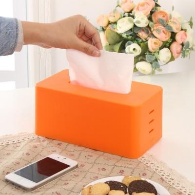 BF040 Contracted multicolor tissue box carton boxes 20*10cm