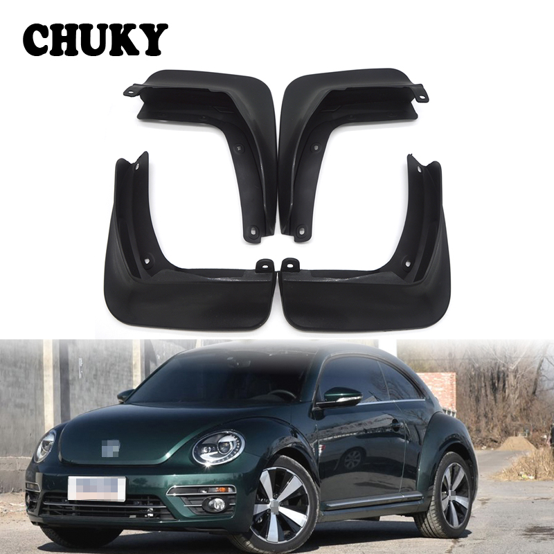 CHUKY Car Front Rear Mudguards For Volkswagen VW Beetle (A5) 2012 2013 2014 2015 2016 2017 Accessories Mudflaps Car styling Fend