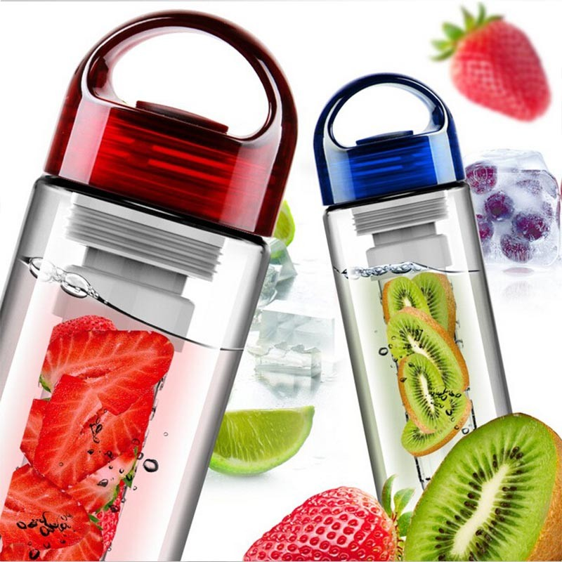 700ml BPA Free Fruit Infuser Water bottle Juice Sports Lemon Bottle hiking Portable Climbing Camp Bottles kitchen accessories-in Water Bottles from Home & Garden on AliExpress