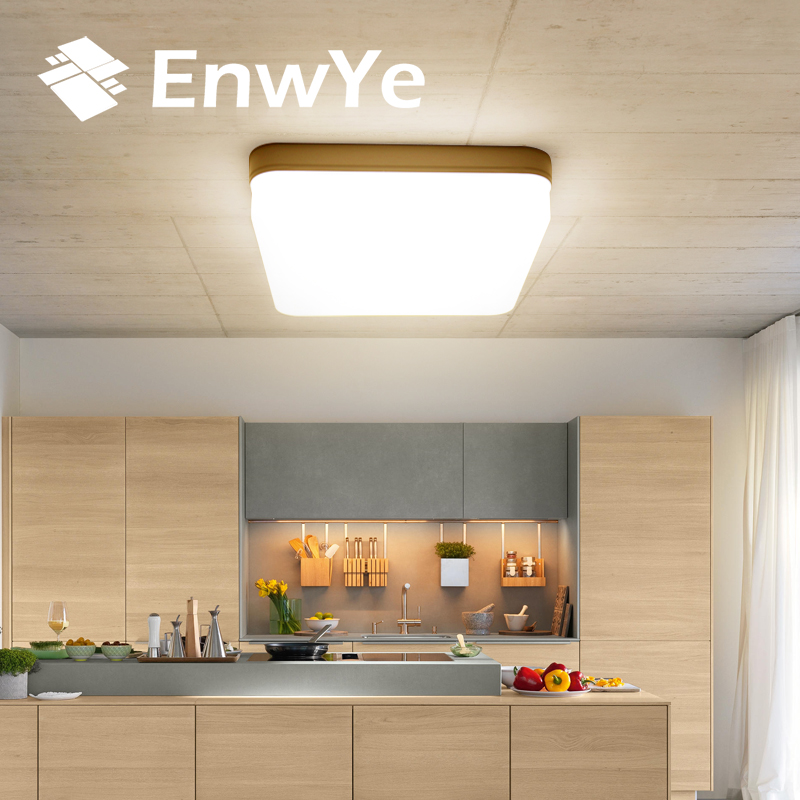 EnwYe 18W 24W 36W 48W LED Square Panel Light Surface Mounted led ceiling light AC 85 EnwYe 18W 24W 36W 48W LED Square Panel Light Surface Mounted led ceiling light AC 85-265V lampada led lamp