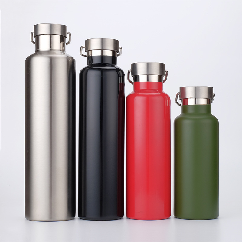 Bazaarian Double Wall Insulated WIde Mouth Water Bottle 32oz