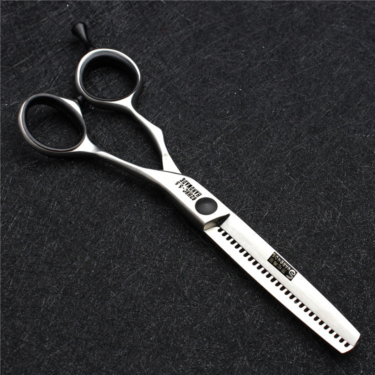 Barber cutting hair scissors for hairdressing 440c japanese steel haircut thinning shears high quality