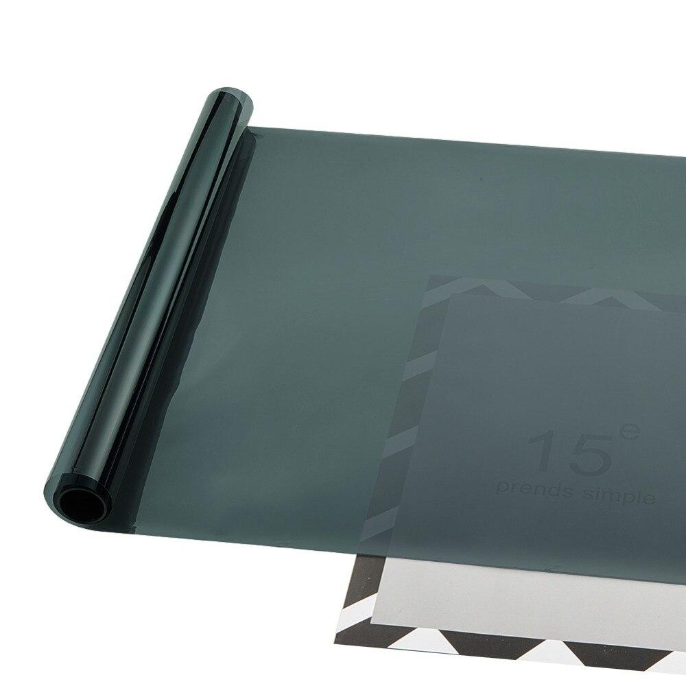 50cmx300cm Car Window Tint Film Side Windows Tinting Film Foils VLT 17% 1 Pcs
