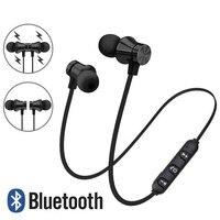 Auriculares inalámbricos Bluetooth con cancelación de ruido, cascos deportivos magnéticos con micrófono para Meizu, Huawei, Sony, Xiaomi y iPhone