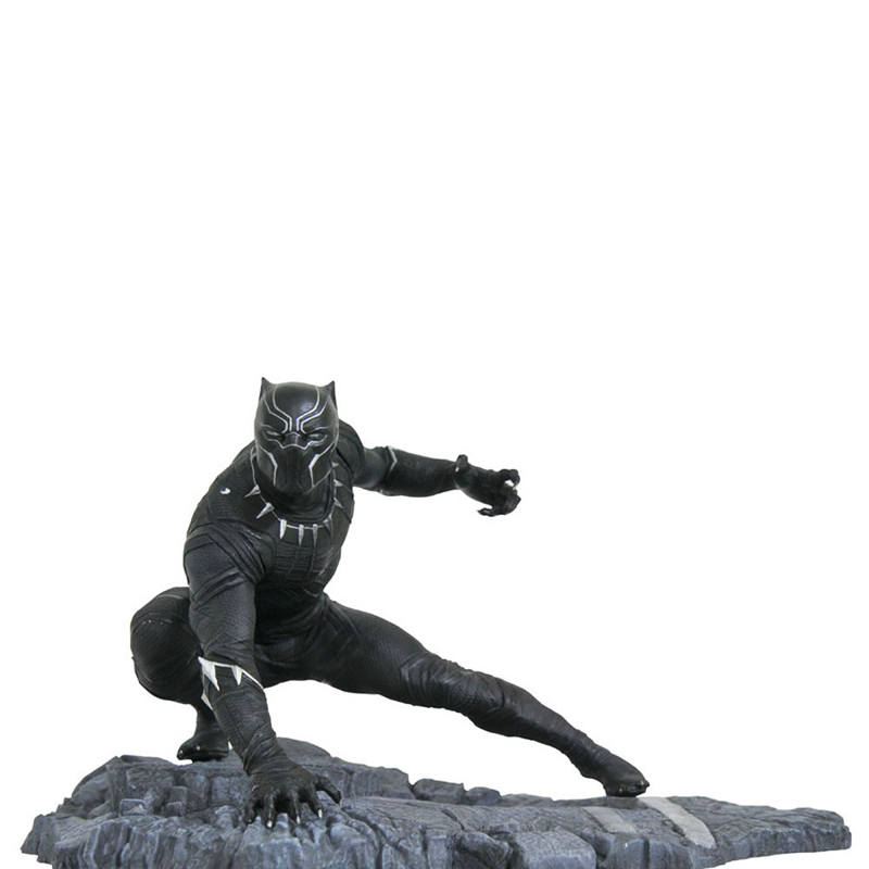 Free Shipping 6 The Avengers Hero Infinity War Black Panther Battle Statue Boxed 15cm PVC Action Figure Model Doll Toys Gift new hot 17cm avengers thor action figure toys collection christmas gift doll with box j h a c g