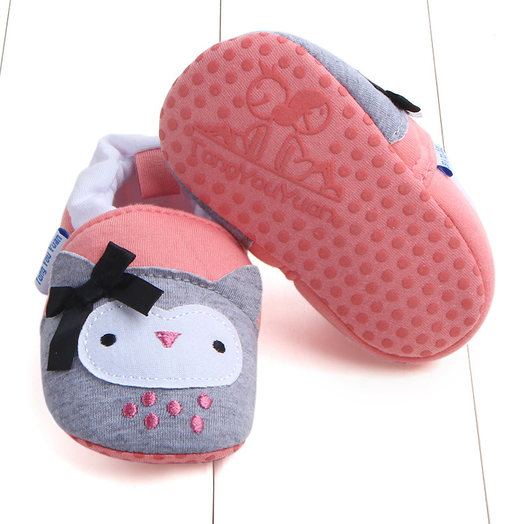 First Walkers Baby Shoes Cotton Anti-slip Booties Baby Girl Boy Shoes Animal Cartoon Newborn Slippers Footwear Booties Kids Gifts (5)