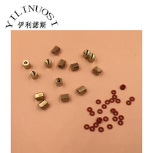 Copper Screw Joint (6mm diameter) O Ring Damper Cartridge Ink Tube 3mm(O.D)*2mm(I.D) for DX5 DX7  Small connector