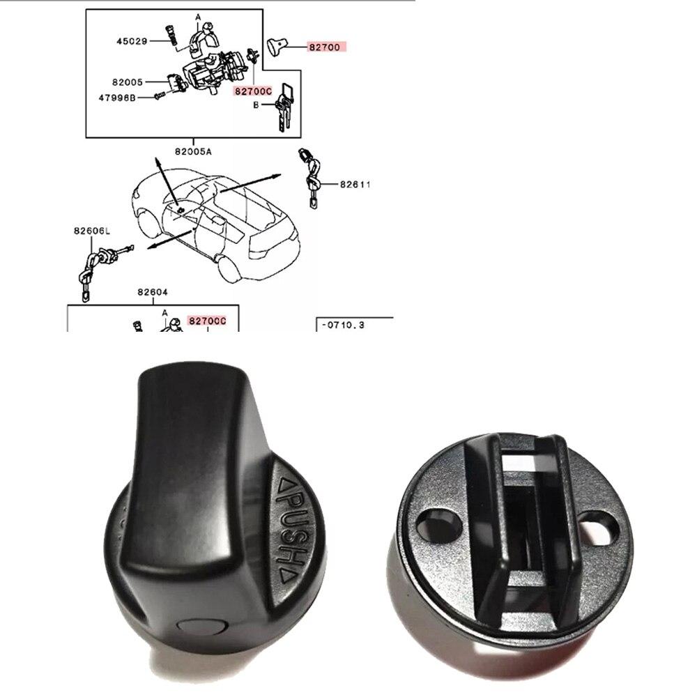 JEAZEA Ignition Key Knob Start Switch Base For Mitsubishi Lancer 2008-2017 For Mitsubishi Outlander 2007-2013 4408A167 4408A031 JEAZEA Ignition Key Knob Start Switch Base For Mitsubishi Lancer 2008-2017 For Mitsubishi Outlander 2007-2013 4408A167 4408A031