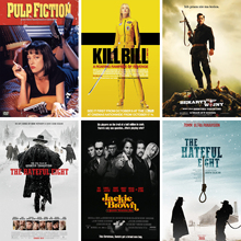 Quentin Movie Posters INGLOURIOUS BASTERDS Paper Prints Livingroom Decoration