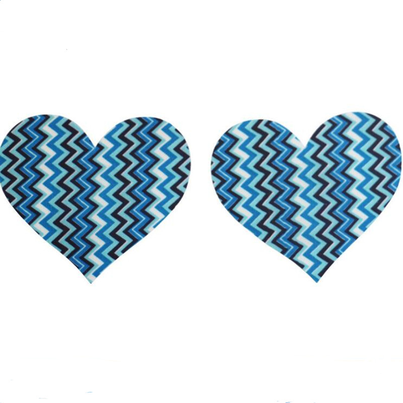 Free shipping Sexy experience 50 pairs (100Pcs) /Cross/X /heart/ star Pasties Nipple Covers wave lovely disposable Nipple Covers