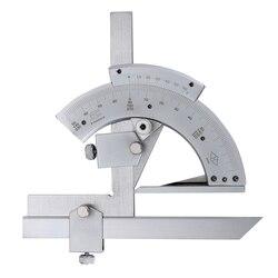 Uniwersalny skos kątomierz 0-320x2 stopniowy kąt Gauge narzędzie wewnętrzna i zewnętrzna kąt narzędzia do pomiarów precyzyjnych