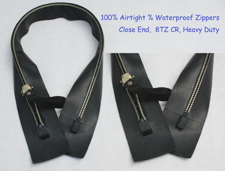 Drysuit Zipper Airtight Zip Waterproof Zip