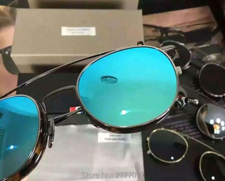 dd9046fc5d Nueva york marca thom marcos de Anteojos o gafas de sol hombres y ...