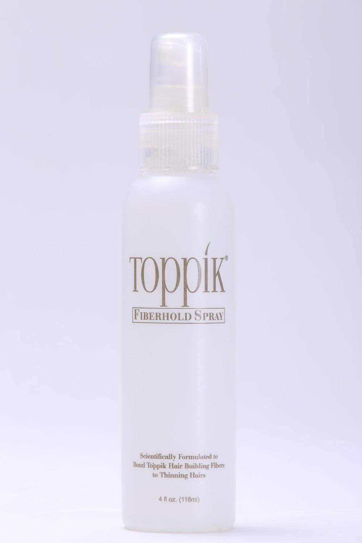TOPPIK hair fibershold lock spray 118 ml for hair fibers powder