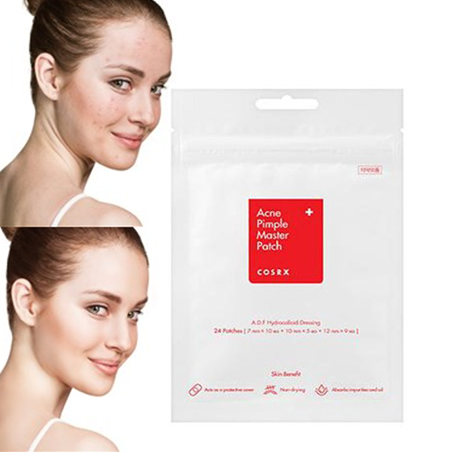 Korea Cosmetic Acne Pimple Master Patch 24 Patches Face Skin Care Anti Acne Pimple Treatment Blemish Acne Remover Drop Ship