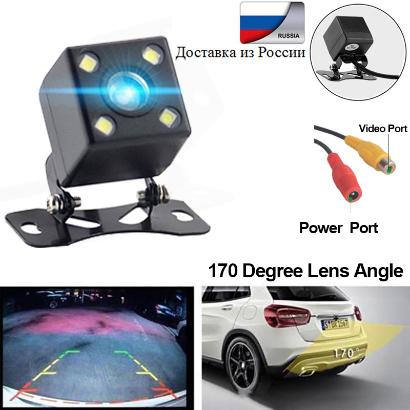 Car Reverse Camera Rear View Camera 170 Degree Night Version IP68 Waterproof Para Auto Backup Rearview Parking Kamera CofaniaCar Reverse Camera Rear View Camera 170 Degree Night Version IP68 Waterproof Para Auto Backup Rearview Parking Kamera Cofania