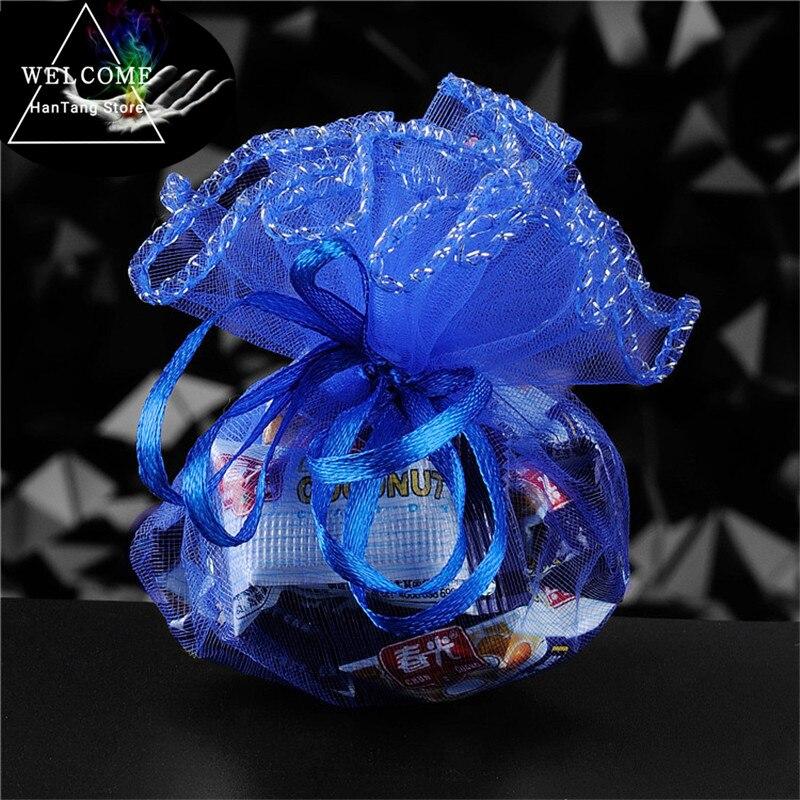 779f4a420 Detalle Comentarios Preguntas sobre 50 piezas de favores de la boda y  regalos ronda bolsa de Organza joyas bolsas de gasa elemento bolsa de boda/decoración  ...