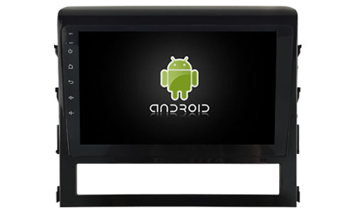 Navirider octa Core Android 8.0 car radio player 1080P DVD recorder for Toyota LC200 Landcruiser carplay built in TDA7851 Amp