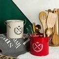 1 шт. перегородка ведро для кухонного инструмента ведро с ручкой подставка для палочек для еды дренажная отдельная коробка для хранения Нов...