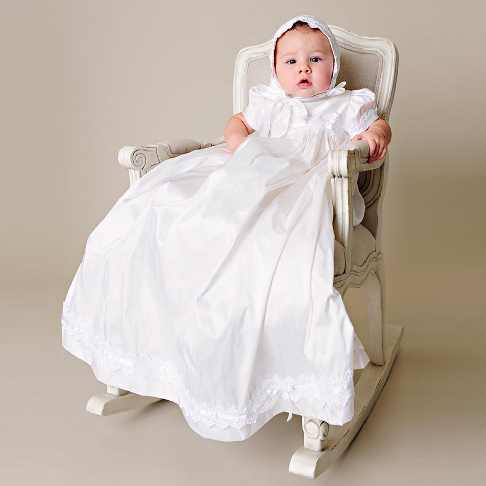 Lovely-Silk-Christening-Outfits-Draped-Lace-Appliques-Infant-White-Ivory-Baptism-Taffeta-Baby-Boy-Cl