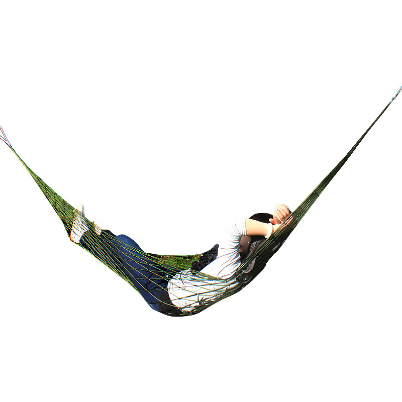 Hot selling Portable Garden Outdoor Camping Travel furniture Mesh Hammock swing Sleeping Bed Nylon hammock outdoor sleeping parachute hammock garden sports home travel camping swing nylon hang bed double person hammocks hot sale