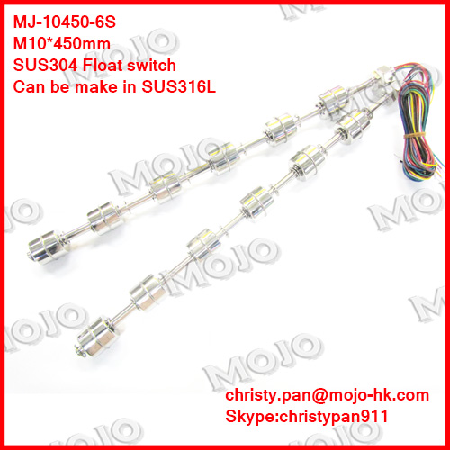 Free shipping! discount ! MJ-10450-6S float level switch