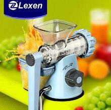 Latest Manual Lexen Wheatgrass juicer Healthy Fruit Juicer machine
