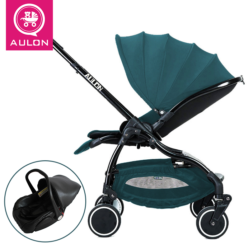 3 in 1 Light folding baby carriage baby strollers for travel newborn use AULON send umbrella free3 in 1 Light folding baby carriage baby strollers for travel newborn use AULON send umbrella free