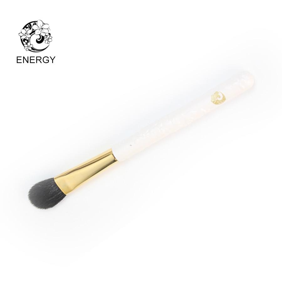 ENERGY Brand Camellia Goat Hair Large Eyeshadow Brush Makeup Brushes Make Up Brush Brochas Maquillaje Pinceaux Maquillage SC06