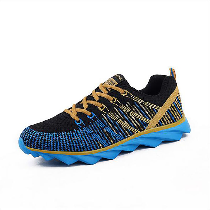 2016 spring mens running shoes style for jogging Cushioning air mesh light weight fly wire breathable soft wear increasing 160