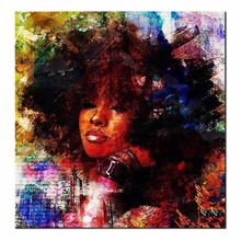 5D DIY Diamond Painting Africa woman Cross Stitch Full Square Mosaic Embroidery Home Decoration Z598