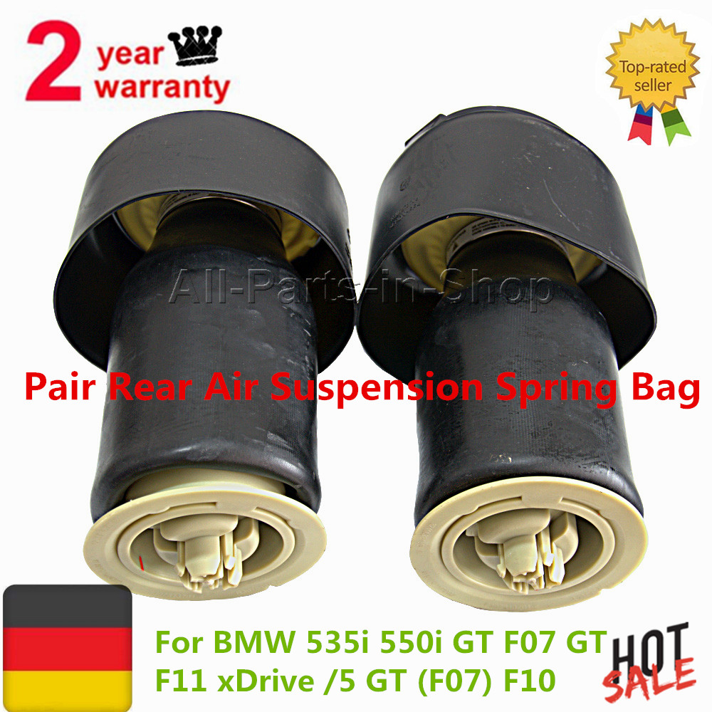 Pair Rear Air Suspension Spring Bag for BMW 535i 550i GT F07 GT F11 xDrive /5 GT (F07) OE#37106781827 37106781828 37106781843 dhl free shipping for bmw f07 gt f11 535i 550i gt xdrive rear air suspension spring bag