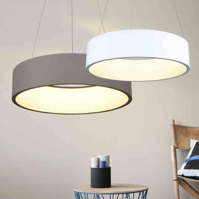 Minimalisme Suspendus Des Lumières De Pendentif LED Modernes Pour La Salle  à Manger Bar Suspension Luminaire